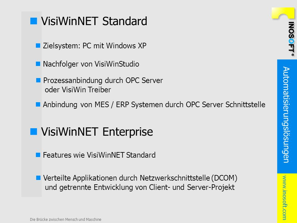 n VisiWinNET Enterprise