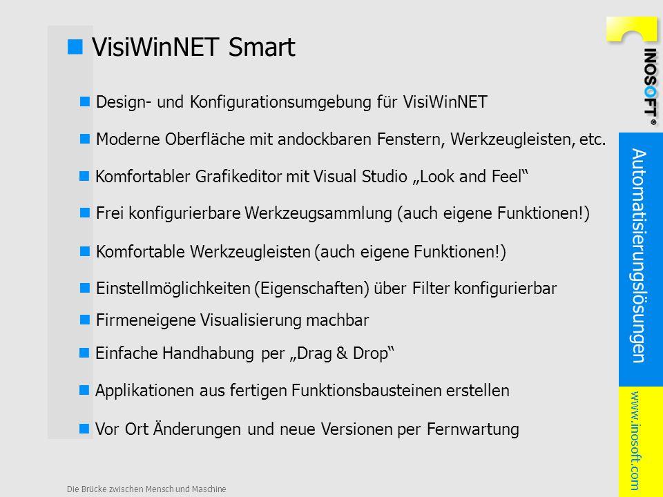n VisiWinNET Smart n Design- und Konfigurationsumgebung für VisiWinNET