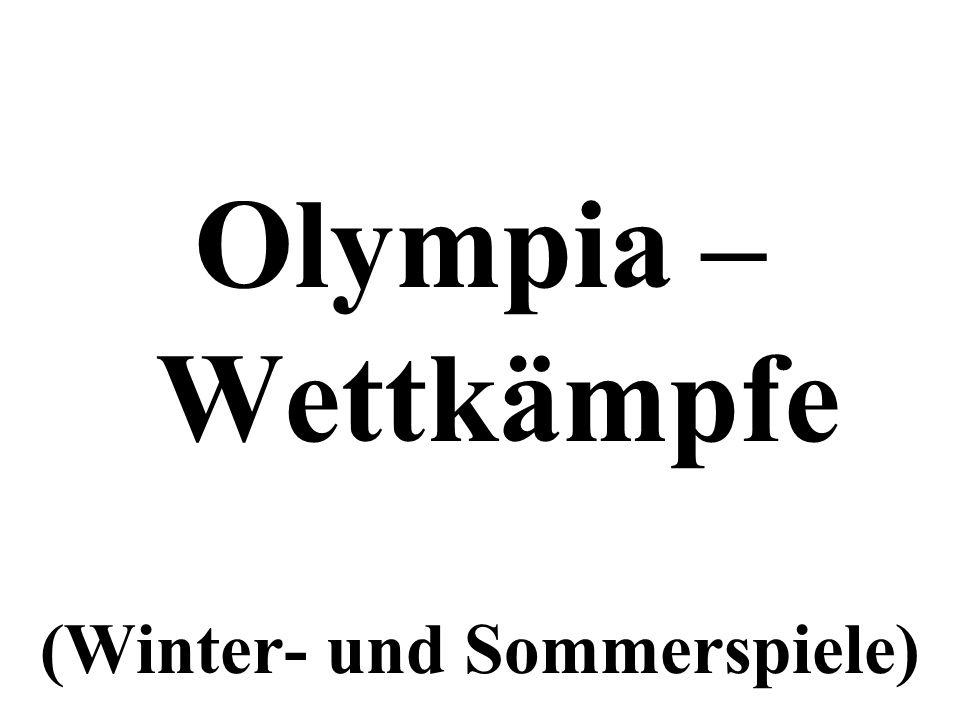 (Winter- und Sommerspiele)