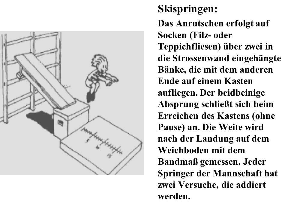 Skispringen: