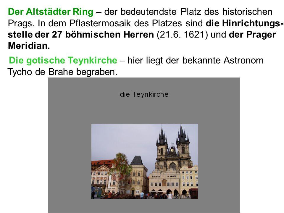 Der Altstädter Ring – der bedeutendste Platz des historischen