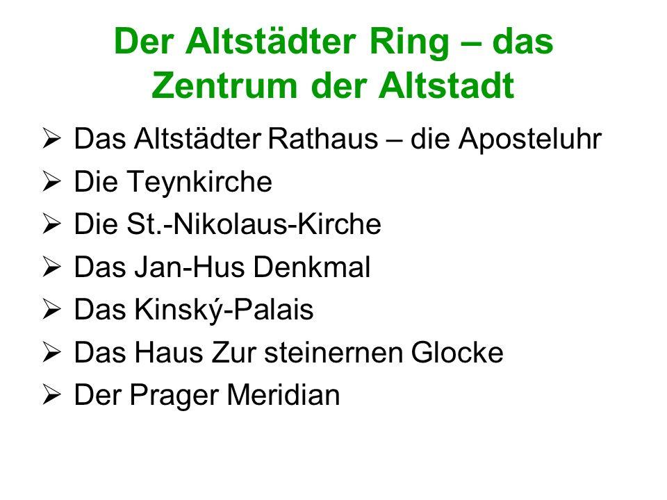 Der Altstädter Ring – das Zentrum der Altstadt