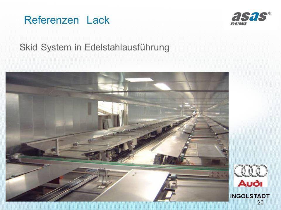 Referenzen Lack Skid System in Edelstahlausführung INGOLSTADT 20