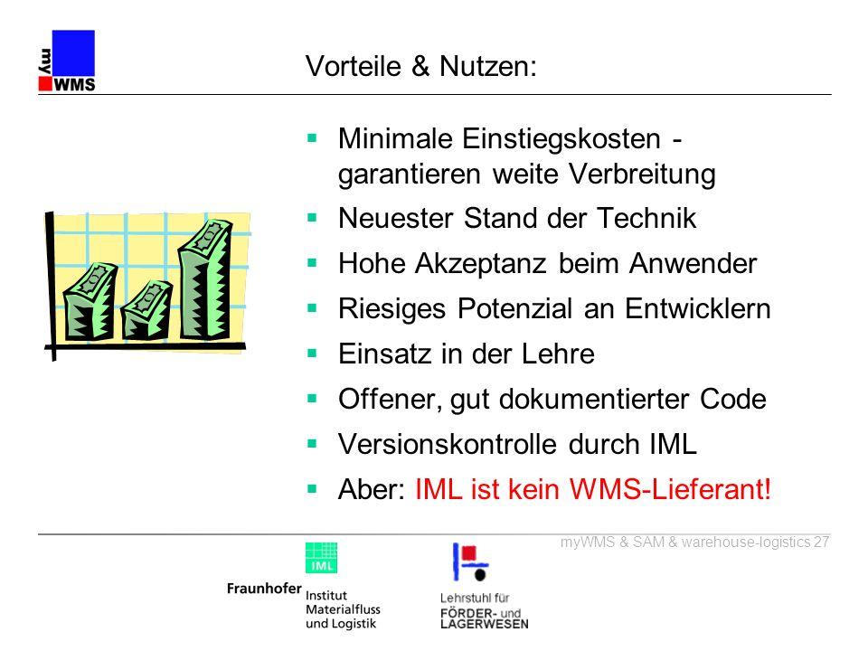 Vorteile & Nutzen: Minimale Einstiegskosten - garantieren weite Verbreitung. Neuester Stand der Technik.