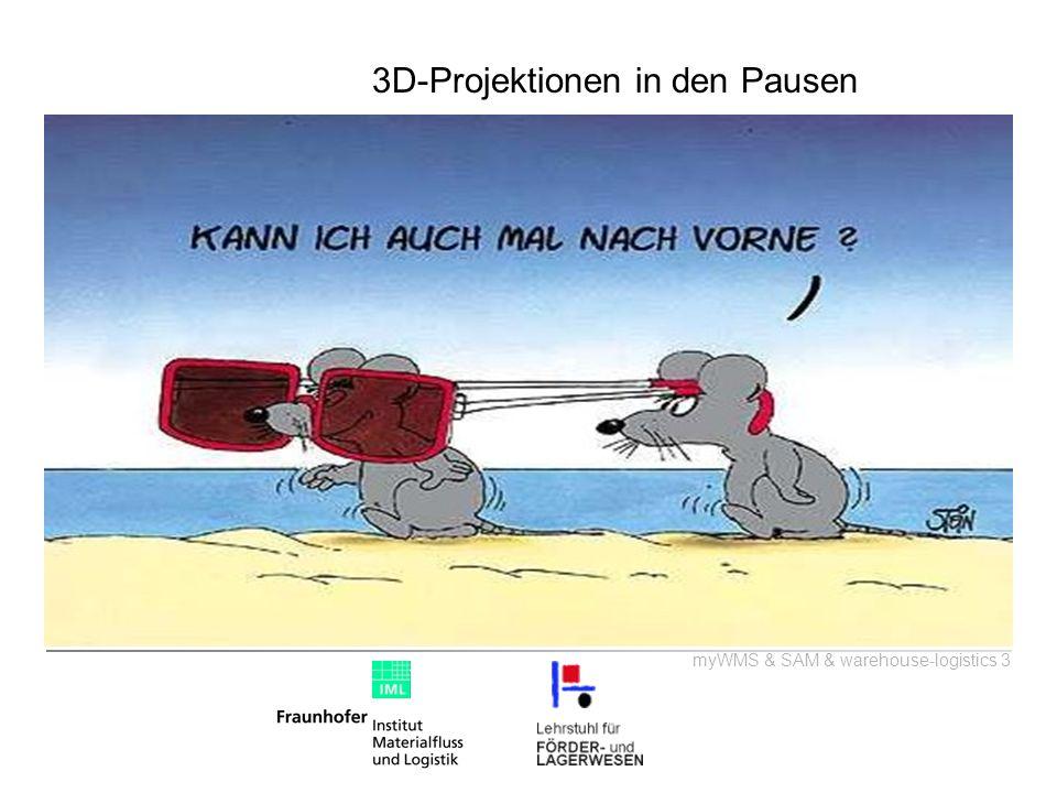 3D-Projektionen in den Pausen