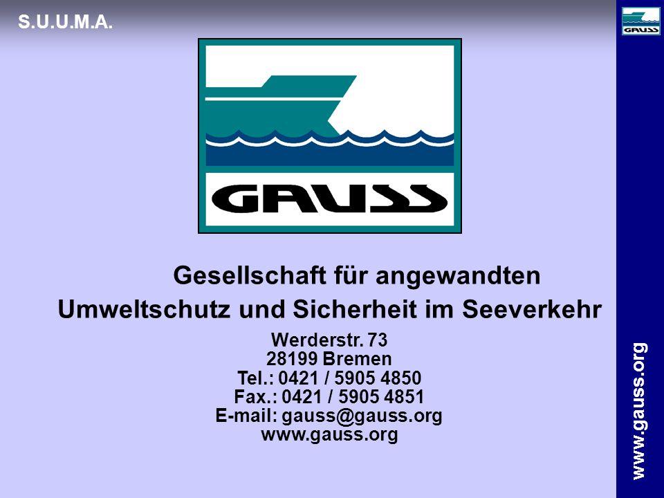 Gesellschaft für angewandten Umweltschutz und Sicherheit im Seeverkehr