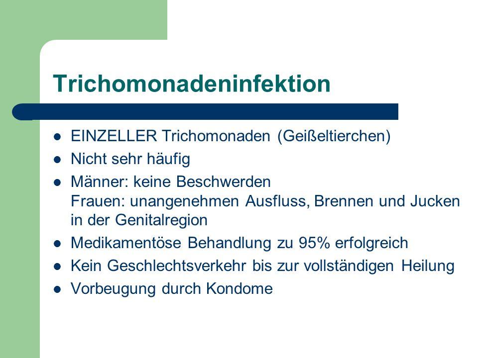 Trichomonadeninfektion