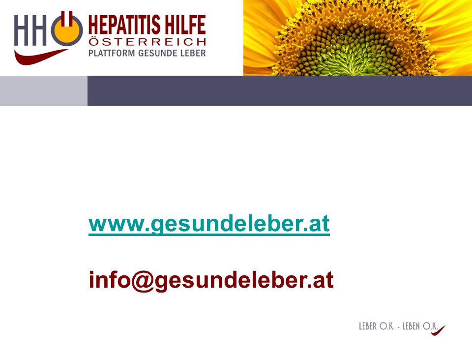 www.gesundeleber.at info@gesundeleber.at