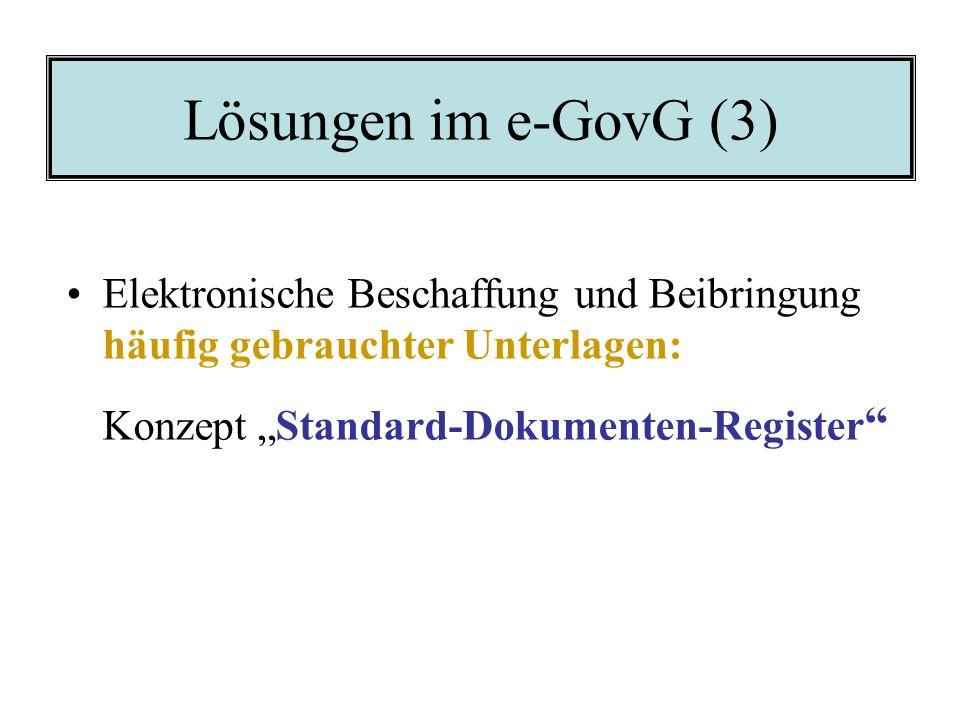 """Konzept """"Standard-Dokumenten-Register"""