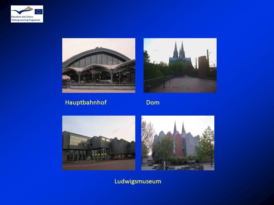 Hauptbahnhof Dom Ludwigsmuseum
