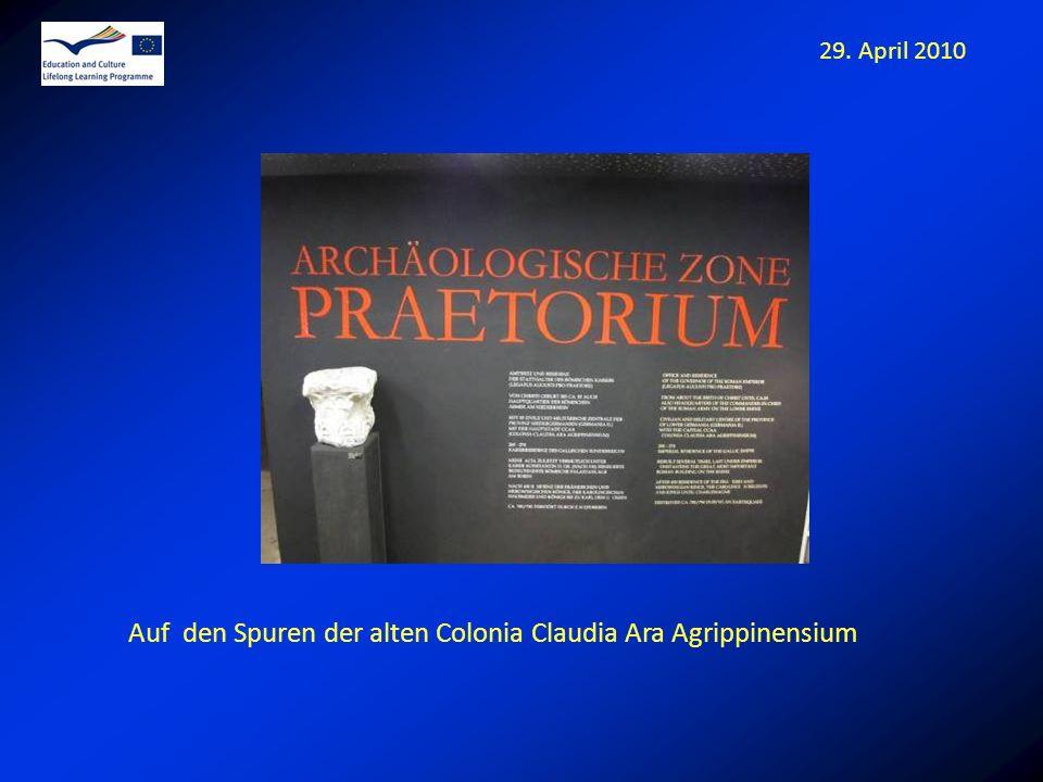 Auf den Spuren der alten Colonia Claudia Ara Agrippinensium