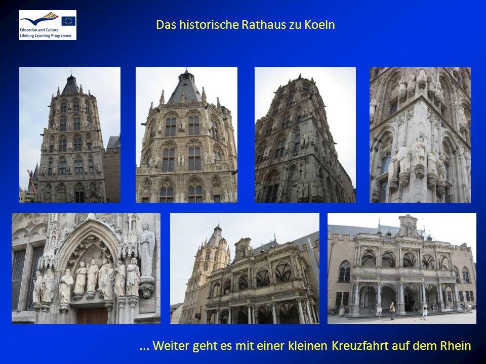 Das historische Rathaus zu Koeln