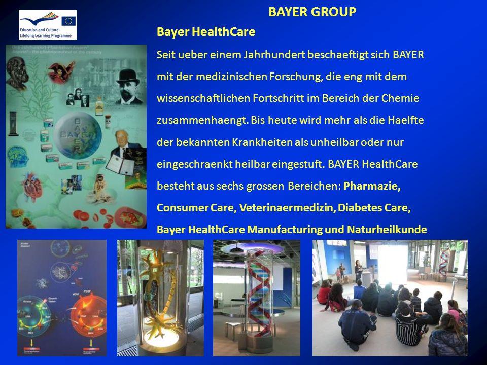 BAYER GROUP Bayer HealthCare