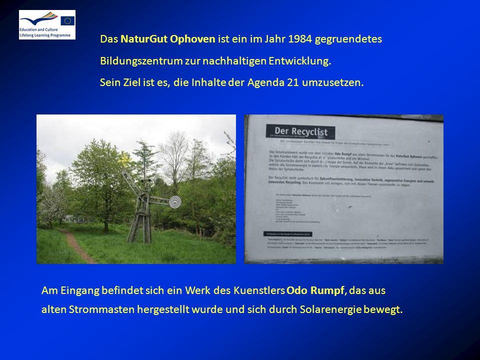 Das NaturGut Ophoven ist ein im Jahr 1984 gegruendetes