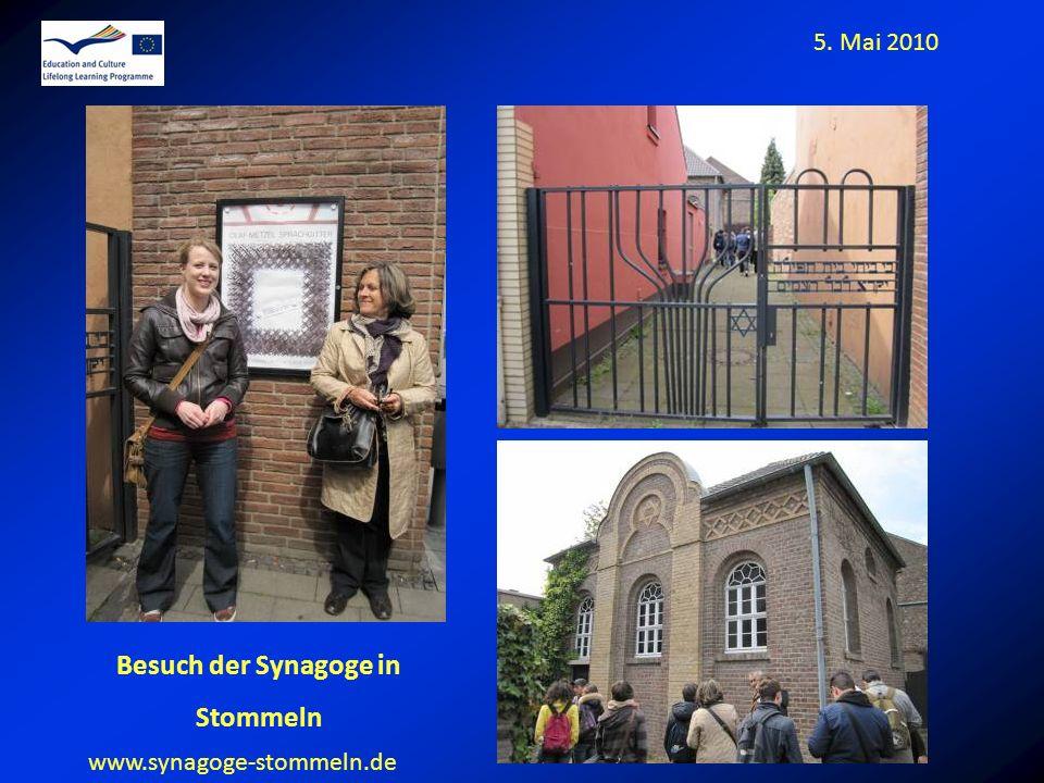 Besuch der Synagoge in Stommeln