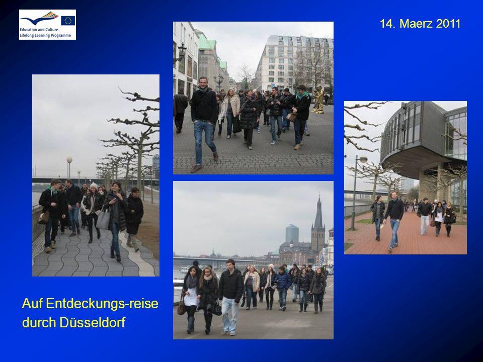 Auf Entdeckungs-reise durch Düsseldorf