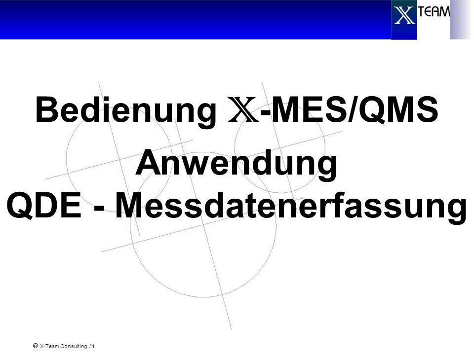 QDE - Messdatenerfassung