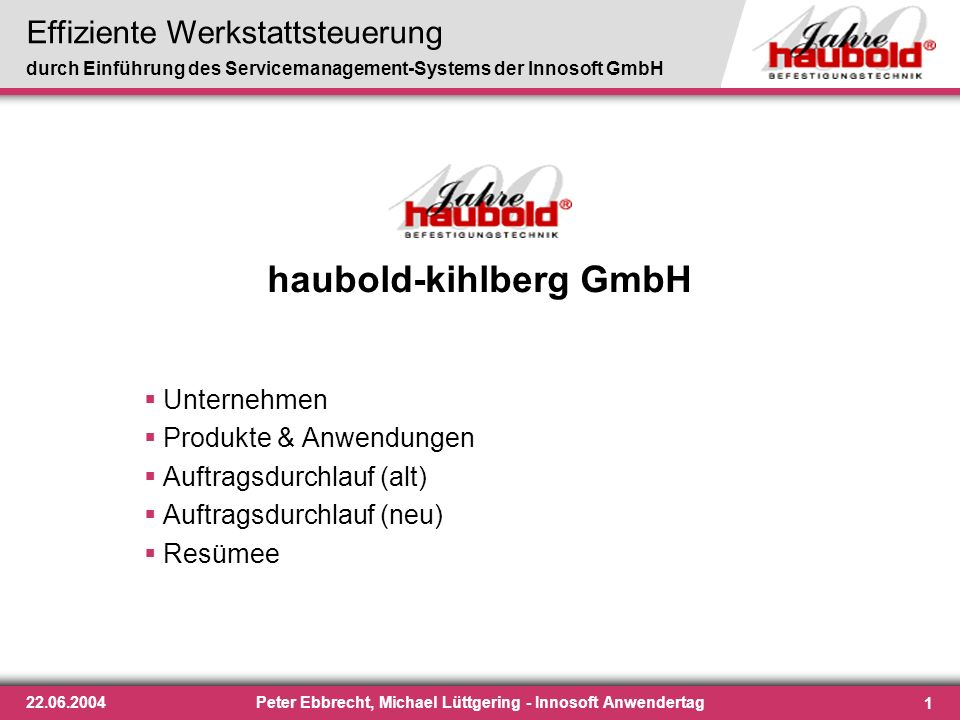 haubold-kihlberg GmbH