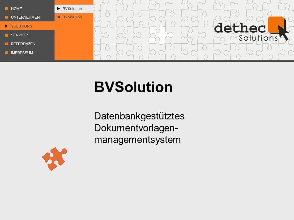 Datenbankgestütztes Dokumentvorlagen- managementsystem