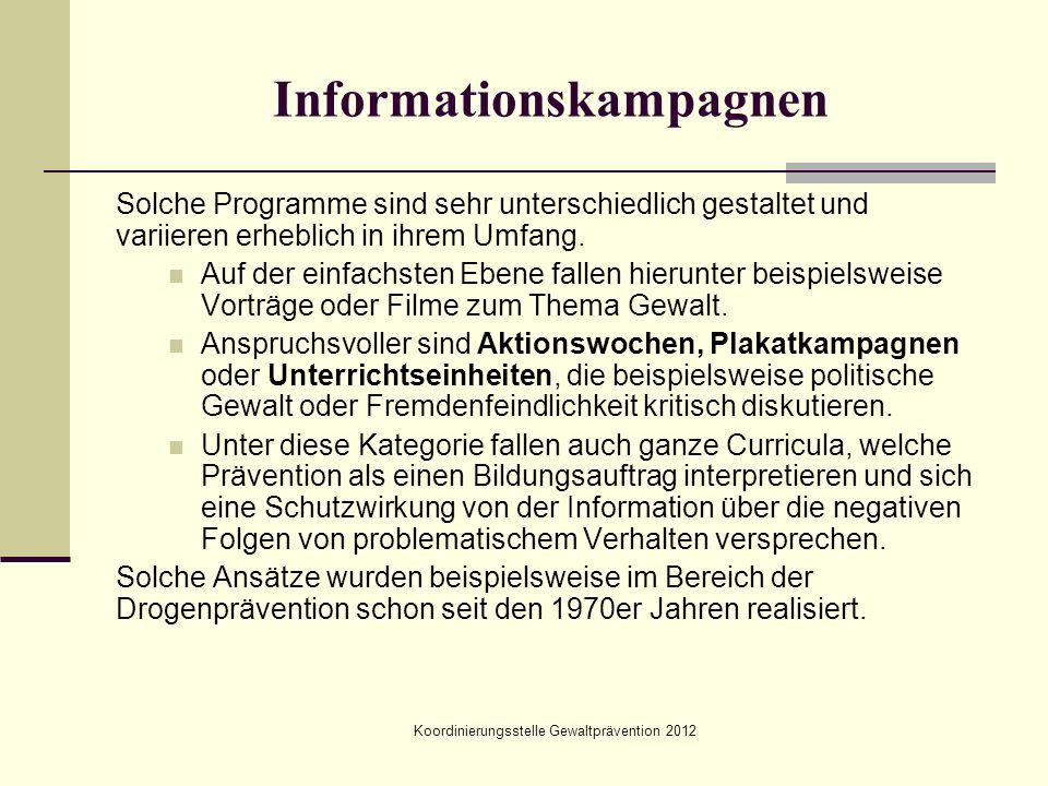 Informationskampagnen