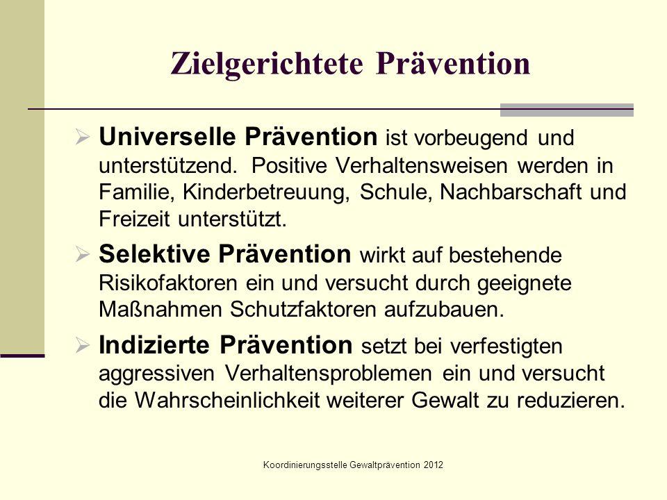 Zielgerichtete Prävention