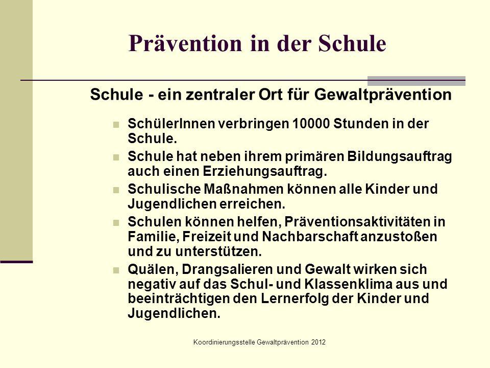 Prävention in der Schule