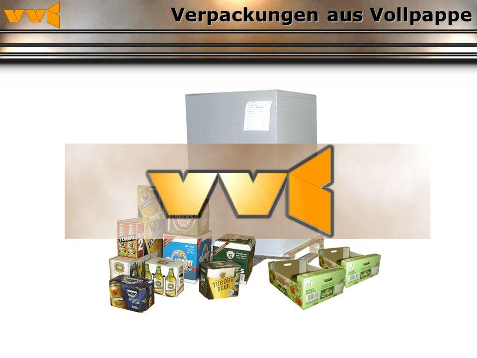 Verpackungen aus Vollpappe