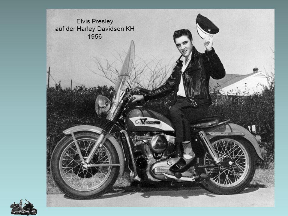 auf der Harley Davidson KH