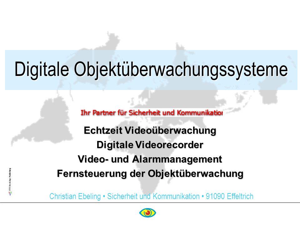 Digitale Objektüberwachungssysteme
