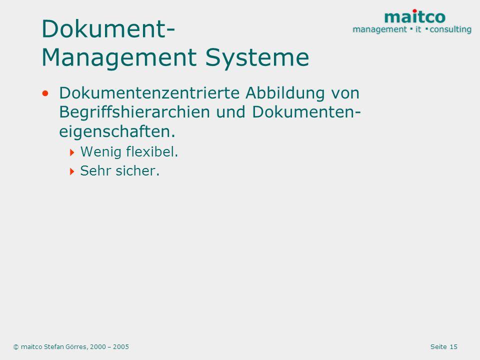 Dokument-Management Systeme