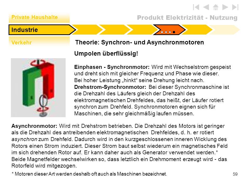 Theorie: Synchron- und Asynchronmotoren