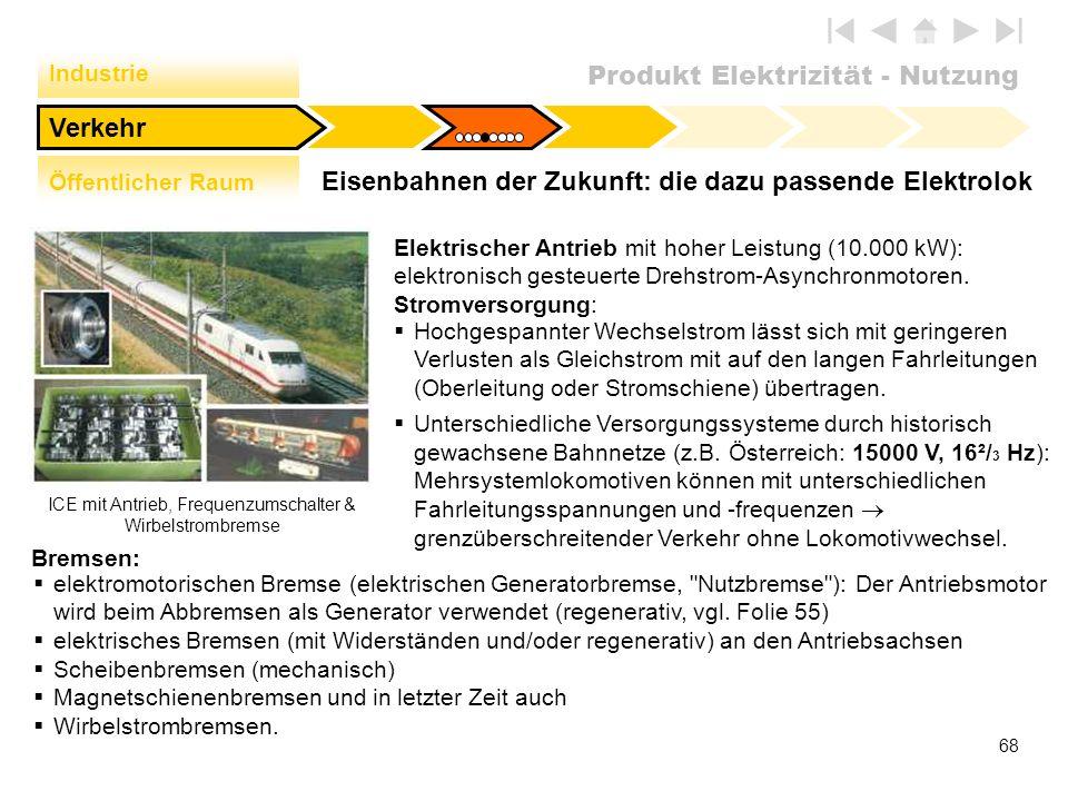 Eisenbahnen der Zukunft: die dazu passende Elektrolok