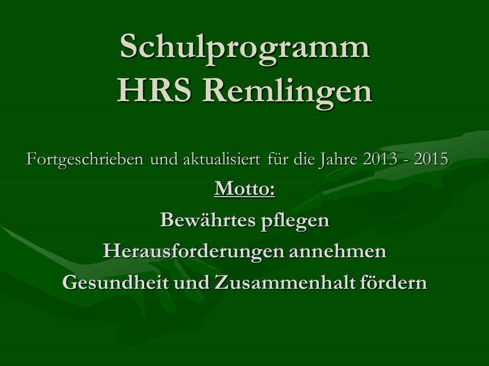 Schulprogramm HRS Remlingen