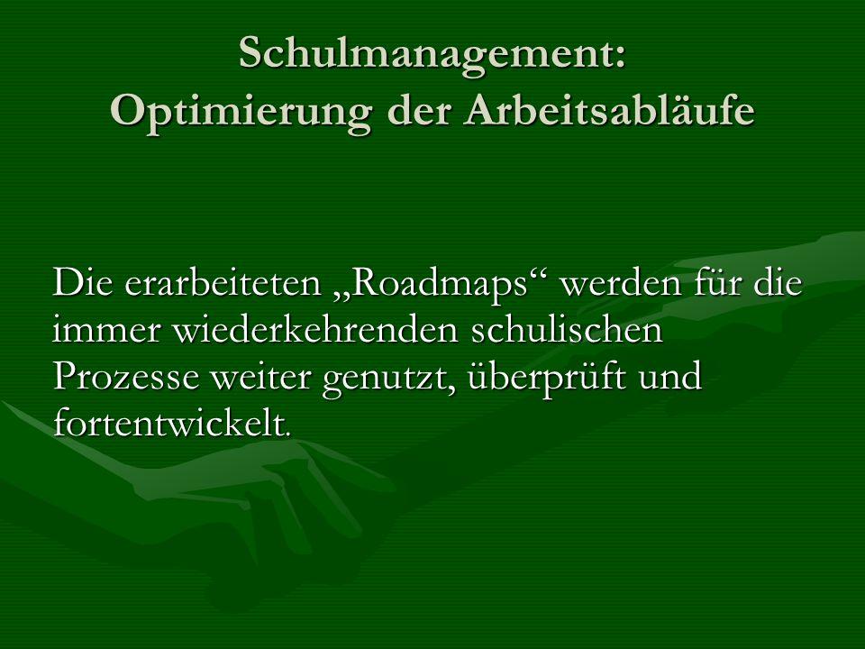 Schulmanagement: Optimierung der Arbeitsabläufe