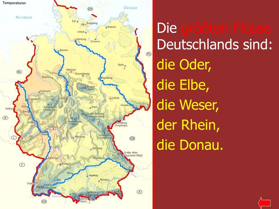 längster fluss deutschlands