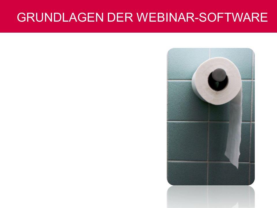 Grundlagen der Webinar-Software