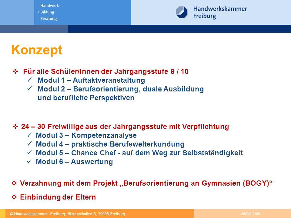 Konzept Für alle Schüler/innen der Jahrgangsstufe 9 / 10