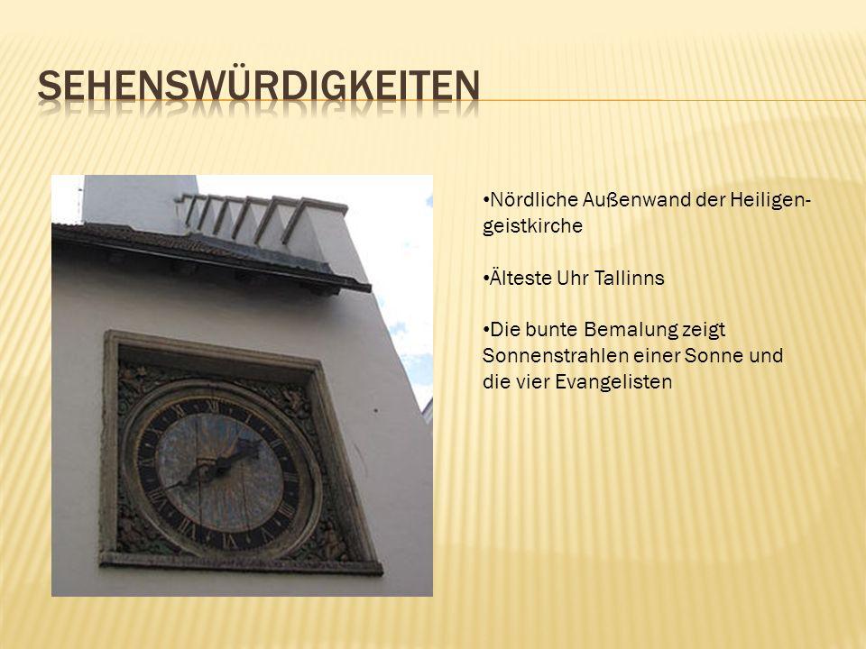 sehenswürdigkeiten Nördliche Außenwand der Heiligen- geistkirche