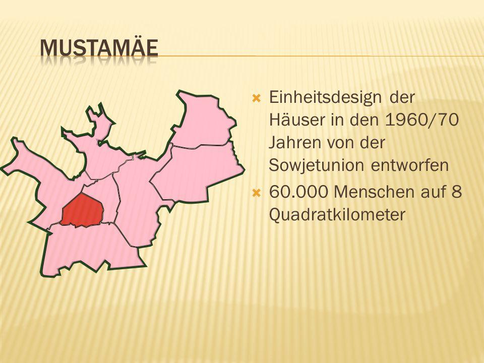 mustamäe Einheitsdesign der Häuser in den 1960/70 Jahren von der Sowjetunion entworfen.