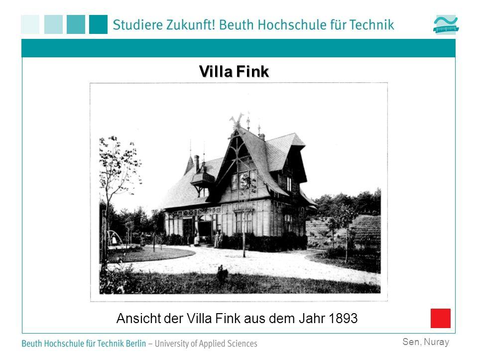 Ansicht der Villa Fink aus dem Jahr 1893
