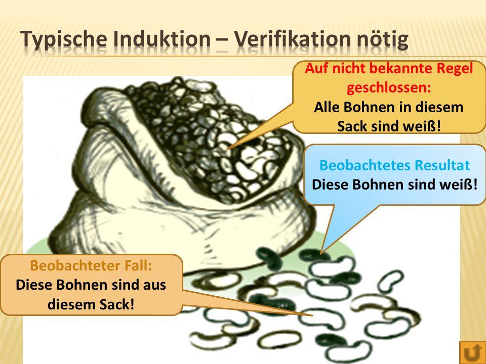 Typische Induktion – Verifikation nötig