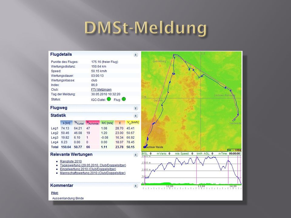 DMSt-Meldung