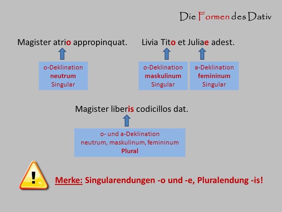 neutrum, maskulinum, femininum