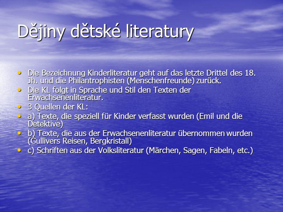 Dějiny dětské literatury