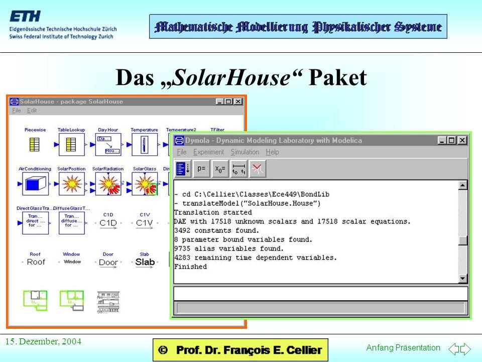 """Das """"SolarHouse Paket"""