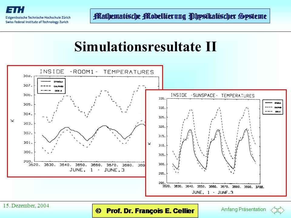 Simulationsresultate II