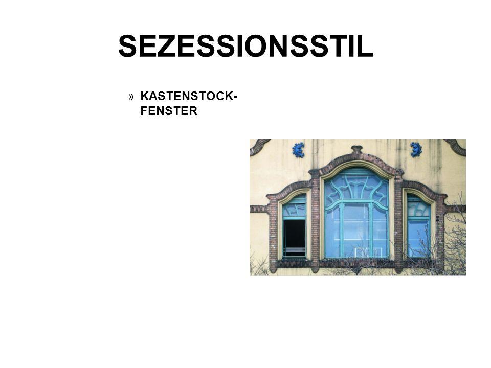 SEZESSIONSSTIL KASTENSTOCK-FENSTER