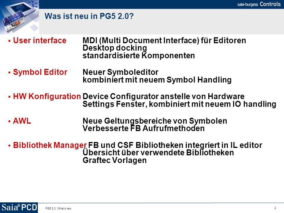 Symbol Editor Neuer Symboleditor kombiniert mit neuem Symbol Handling