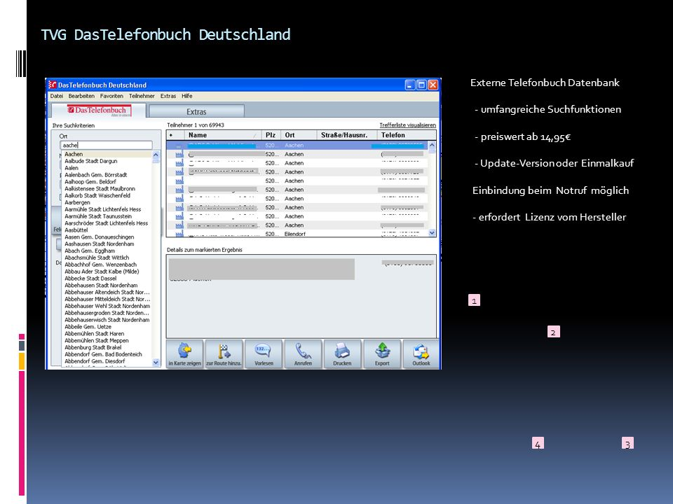 TVG DasTelefonbuch Deutschland