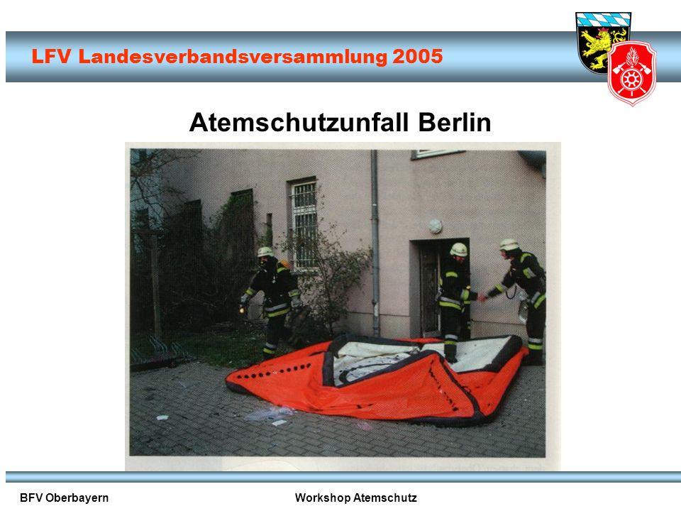 Atemschutzunfall Berlin